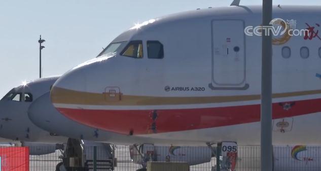 空客天津总装公司:月产6架空客A320 产量超去年同期