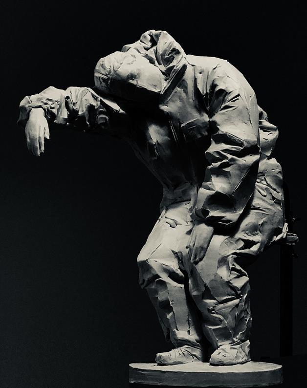 殷小烽 《2020、某月、某時……》 雕塑 2020年