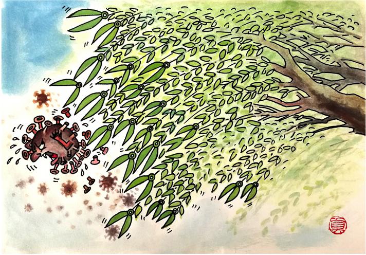 《春風楊柳萬千條》王真 漫畫