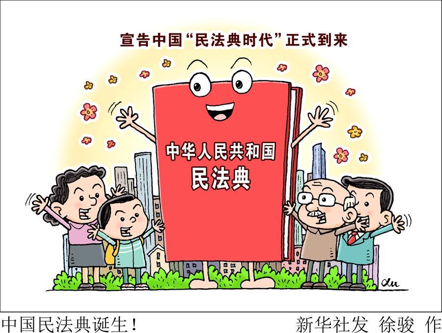 (新华全媒头条·两会特别报道·图文互动)(2)新时代的人民法典——《中华人民共和国民法典》诞生记