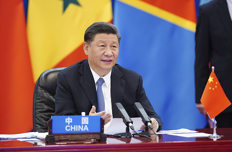 6月17日晚,国家主席习近平在北京主持中非团结抗疫特别峰会并发表题为《团结抗疫 共克时艰》的主旨讲话。本次峰会由中国和非洲联盟轮值主席国南非、中非合作论坛共同主席国塞内加尔共同发起,以视频方式举行。