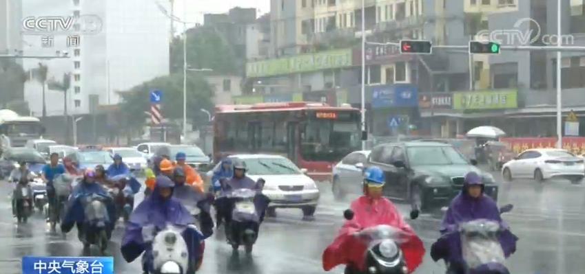 最新气象消息 长江中下游地区降雨趋于结束