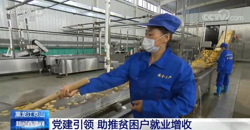 黑龙江克山:党建引领 助推贫困户就业增收