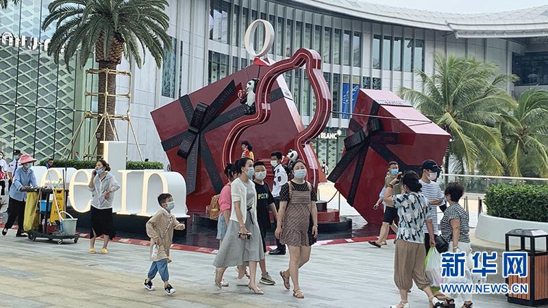 【行走自贸区】走进三亚国际免税城 感受海南免税购物热