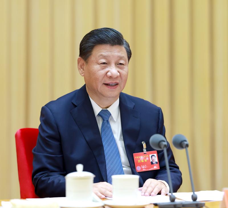 12月28日至29日,中央農村工作會議在北京舉行。中共中央總書記、國家主席、中央軍委主席習近平出席會議并發表重要講話。 新華社記者 李學仁 攝