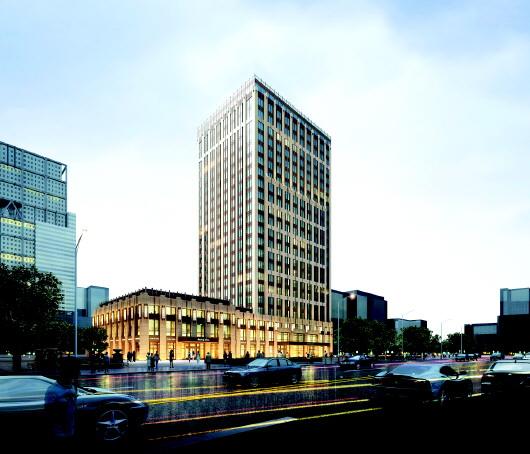 △青岛金融中心大厦项目