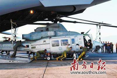 尼军方发现失踪的美军救援飞机