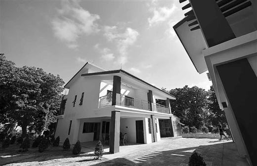 三沙市永兴岛首批渔民定居点一期3栋住宅