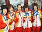 JO de Vancouver : la délégation chinoise de retour à Beijing