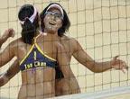 Beach volley, catégorie femme : Xue et Zhang décorée d´or