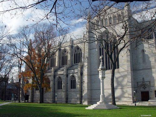 普林斯顿大学校园风光