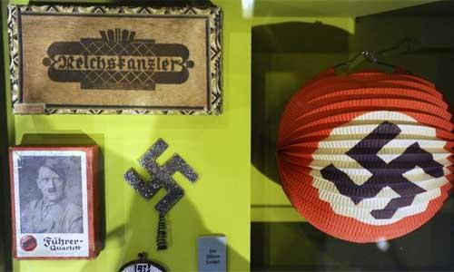 视频 首次/德国举办自二战后的首次希特勒和纳粹物品展【更多高清图】