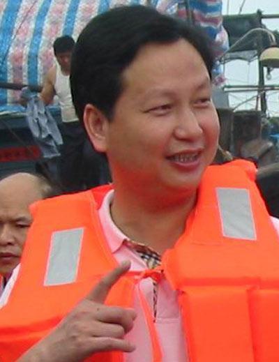 南澳县委常委、宣传部长柯伟