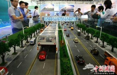 AChinesecompanyhascomeupwithaninnovativeconcept,toeasetheheavypressureonChina'sroadtransportsystem.