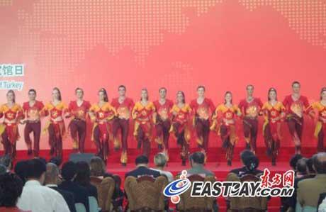 TurkishNationalPavilionDayopenedatthe2010WorldExpoinShanghaionSundaymorning.