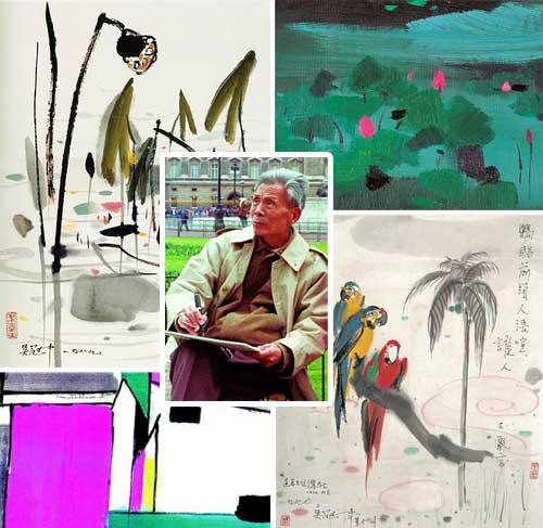 Wu Guanzhong and his works
