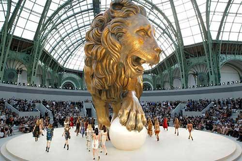 The Chanel Haute Couture Fall/Winter 2010-2011 show by German fashion designer Karl Lagerfeld.