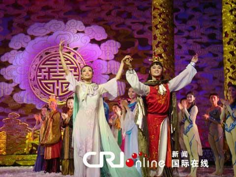 "The Chinese dance drama, ""Dream of Red Mansions"" made its debut in the Arab world at Cairo Opera House this week."