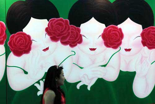 The 13th Beijing Art Expo has opened in the Chinese capital this week.