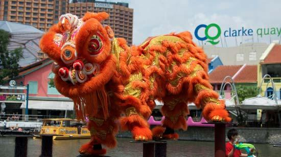 Lion Dancing History Lion Dance Competed in