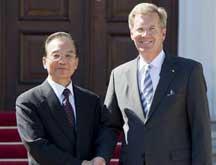 Wen Jiabao termine sa visite en Allemagne