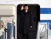 Arrivée aux Etats-Unis du vice-président chinois Xi Jinping