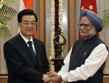 Le président chinois rencontre le Premier ministre indien