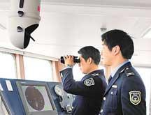 La Chine déploie un navire de surveillance vers l'île Huangyan