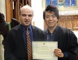 Le pianiste Lang Lang reçoit le titre de membre honoraire d'Oxford