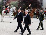 Rencontre du président Xi avec les dirigeants français