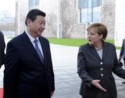 Le président chinois est arrivé à Berlin