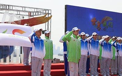 Bénévolesprêtspourl'Expo2010deShanghai