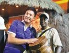 Expo universelle : journée du pavillon de Namibie
