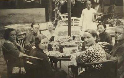 ——梁思成给费正清夫妇的信 写于1941 年 流亡李庄期间图片