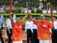 Огонь Азиатских игр в Чжухае