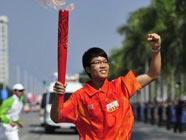 В Гуанчжоу продолжается эстафета огня Азиатских игр