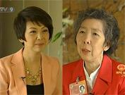 CCTV host Tian Wei interviews CPPCC member ANNIE S.C. WU