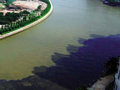 Water pollution in China poses a huge threat to the development of a sustainable water management.