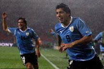 Uruguay beat South Korea 2-1<br><br>