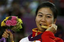 China´s Yi Siling wins 1st gold medal in London