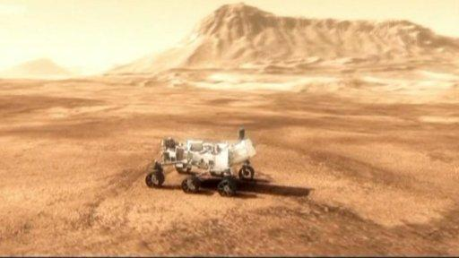 First Mars Rover Landing - Pics about space