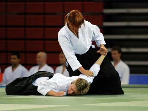 Aikido was invented by Japanese sensei Morihei Ueshiba and was developed into a martial art that incorporates both skill and style.