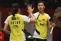 BWF World Championships: Zhang Nan/Zhao Yunlei reach last 16