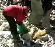请守护圣山 别让圣山成为垃圾场