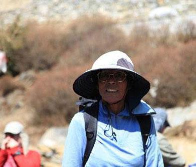 挑战珠峰的日本老太太
