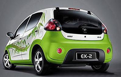吉利即将推出电动汽车