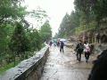 泰山  雨中攀登
