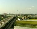 沪杭高铁列车速度超直升机