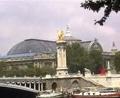 巴黎塞纳河畔的风光