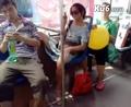 美女在公交车上的故事